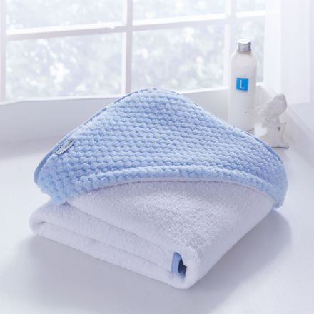Honeycomb Hooded Towel